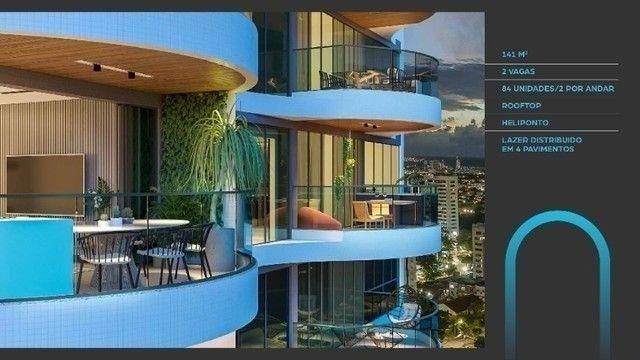 JS- Lançamento do ano na Zona Norte - Edf. Mirage em Casa Amarela - 3 Suítes - 141m² - Foto 5