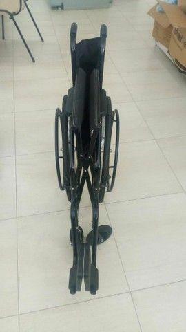 Cadeira de Rodas Semi Obeso (NOVA) - Foto 2
