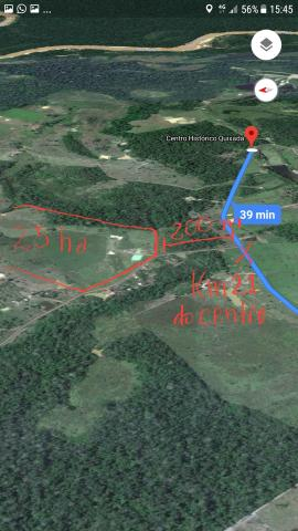 Oportunidade: 25 hectares de terra no quixadá, 2 km antes do centro histórico do quixadá.