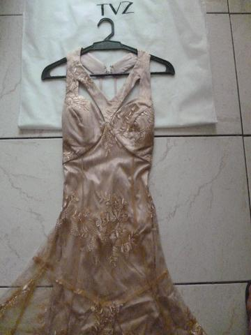 Vestido de festa longo tvz
