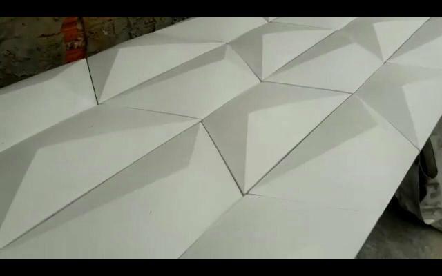3D em gesso painéis