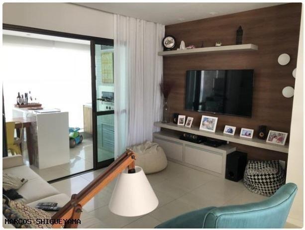 Apartamento com 3/4 (2 suítes) + dependência. armários e painéis primeira linha! VG1620 - Foto 15