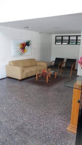 Apartamento para alugar, 60 m² por R$ 1.500,00/mês - Meireles - Fortaleza/CE - Foto 4