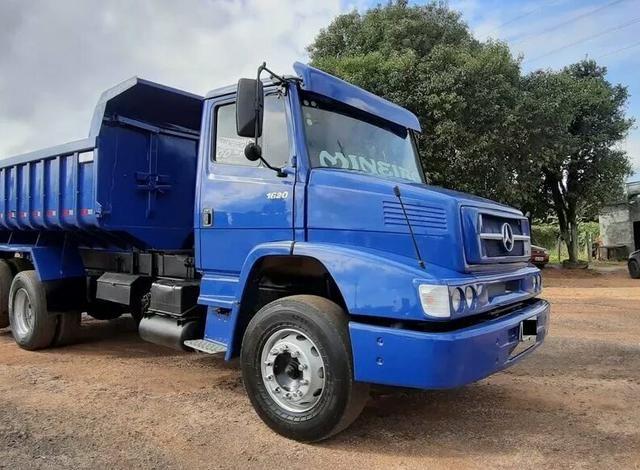Caminhão l1620 caçamba