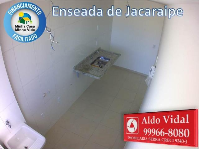 ARV 166- Apto 2 Q, Varanda,Suíte,Piscina em Jacaraipe próximo a praia - Foto 6
