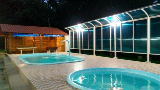 Vende-se Granja no Guarajamirim com 2400m² com 2 quartos, açudes, área gourmet. - Foto 4