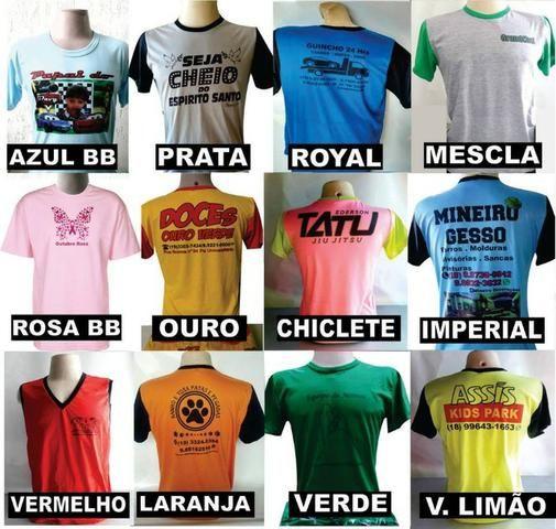 8199b4b48e Camiseta personalizada ou uniforme - Roupas e calçados - Dic I ...