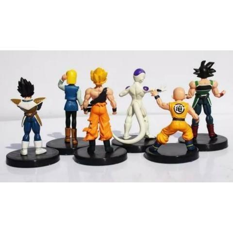 6 Boneco Dragão Ball Z Goku Frieza Vegeta Kuririn Burdock 18 - Foto 6