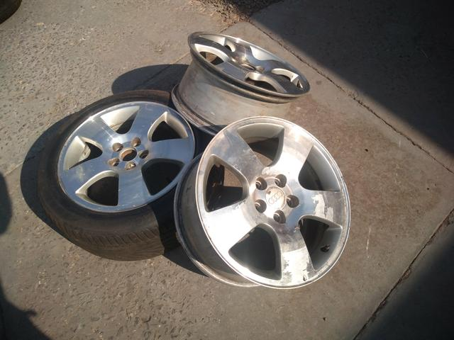 3 rodas Audi Golf Fox aro 16 5x100 - Foto 3