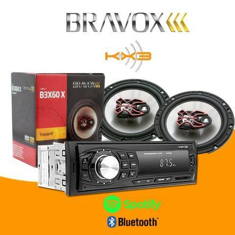 Kit Bravox/Bluetooth kx3(mais vendido do Olx)