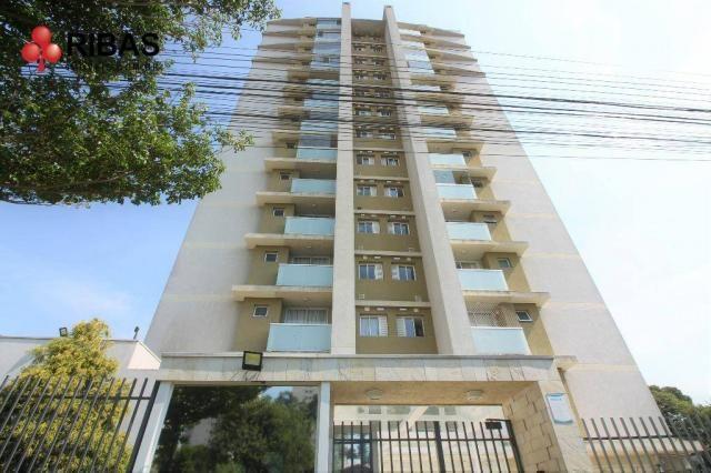 Apartamento com 3 dormitórios para alugar, 78 m² por r$ 2.000,00/mês - capão raso - curiti