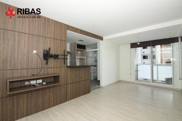 Apartamento com 3 dormitórios para alugar, 78 m² por r$ 2.000,00/mês - capão raso - curiti - Foto 3