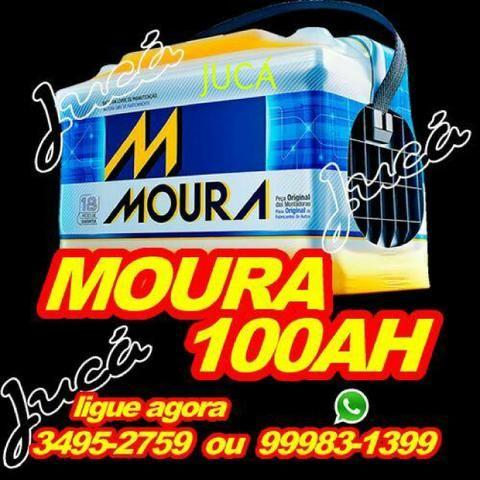 Moura 100 ah!!!! aproveite esse preço campeão