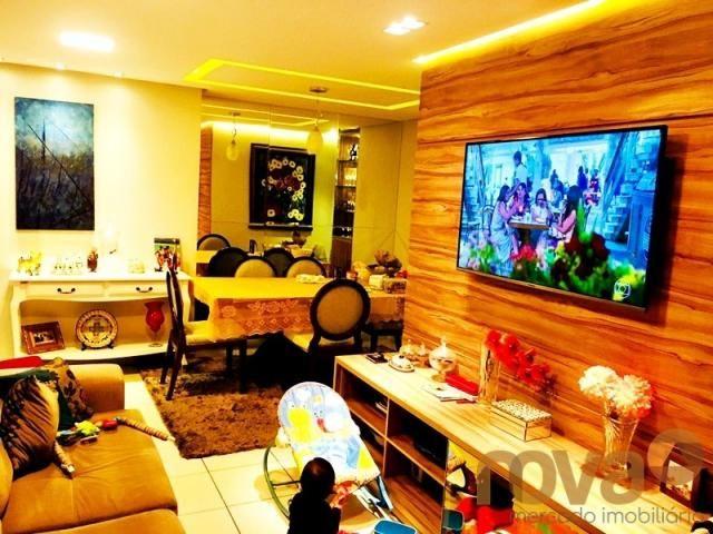 Apartamento à venda com 3 dormitórios em Parque amazônia, Goiânia cod:NOV235844 - Foto 3