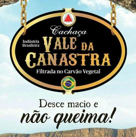 Cachaça Vale da Canastra OURO R$15/Litro