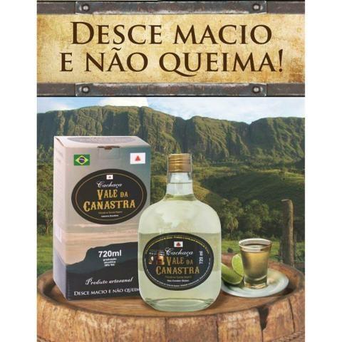 Cachaça Vale da Canastra OURO R$15/Litro - Foto 3