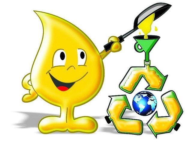 Troco óleo usado de fritura por óleo novo