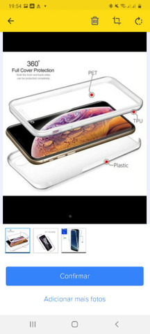 Capa 360° para celular S 20 Plus - Foto 2