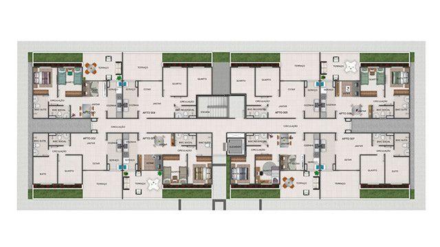 Quinta das Alamedas, apto. 2 quartos, piscina, entrada em 48x - Foto 6