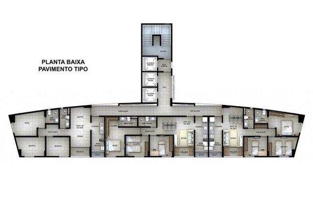 MD | Lançamento na Ilha do Retiro com 3 Quartos sendo 1 suite | Edf.Varandas da Ilha  - Foto 13