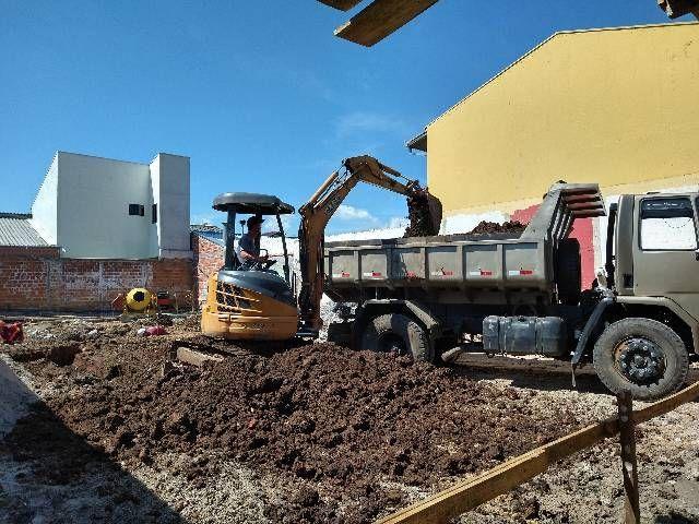 Demolição Retroescavadeira, Mini Escavadeira  - Foto 5