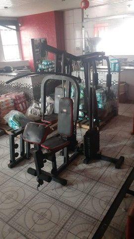 Estação de musculação / multiestação de musculação venha conferir!