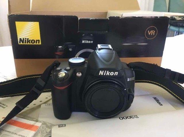 Câmera D3000 Nikon - Foto 5