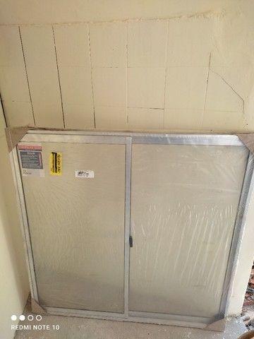 janela slim 100x100cm