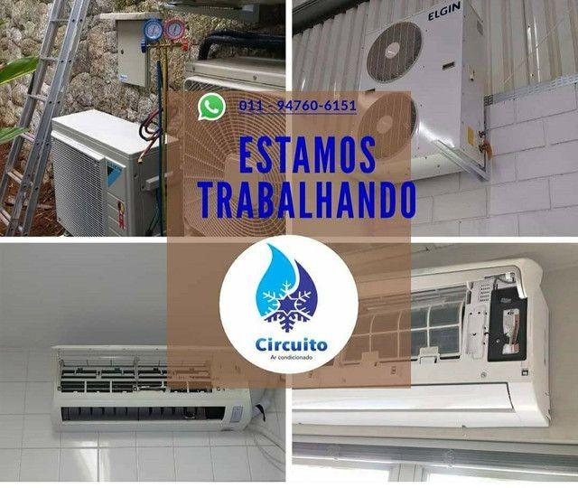 *Instalação e manutenção de ar condicionado .fazemos serviços predial  - Foto 4