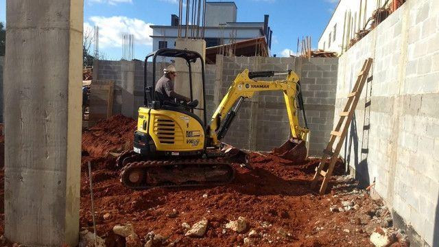Demolição Retroescavadeira, Mini Escavadeira  - Foto 2