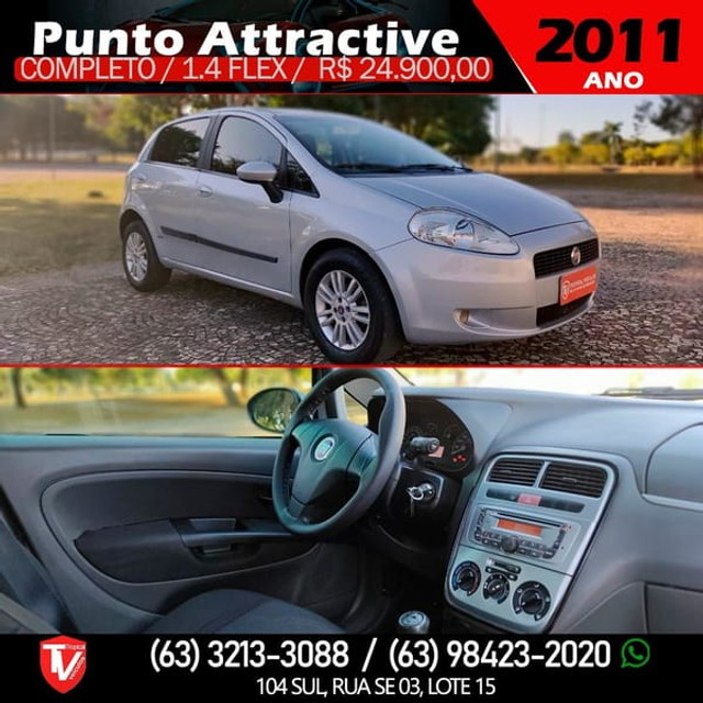Fiat PUNTO ATTRACTIVE 1.4  - Foto 7