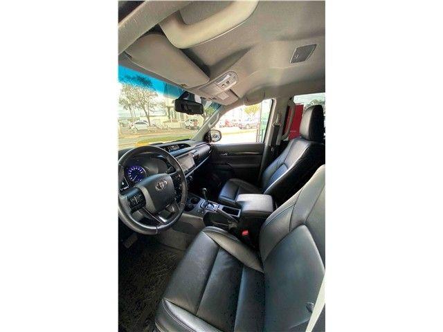 Toyota Hilux 2019 2.8 srv 4x4 cd 16v diesel 4p automático - Foto 8