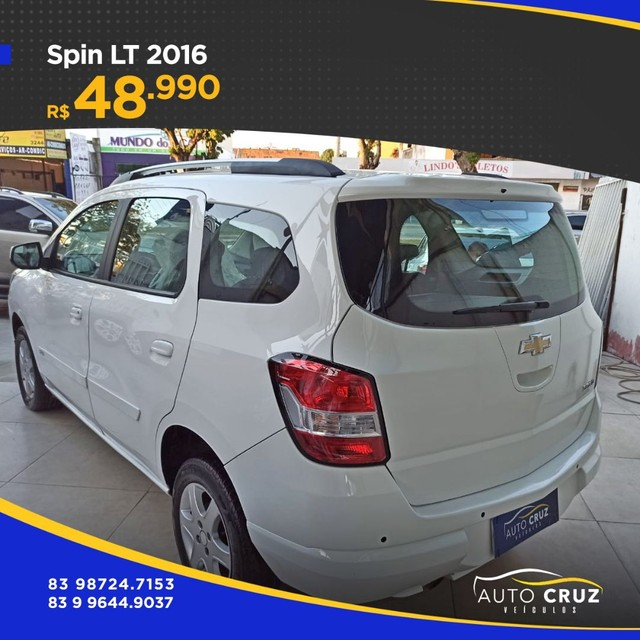 SPIN LT 2016 AUT... EXTRA (Auto Cruz veículos) - Foto 4