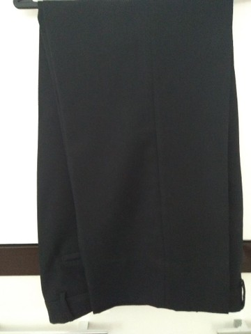 Calça masculina social preta Tam, 44 - Foto 2