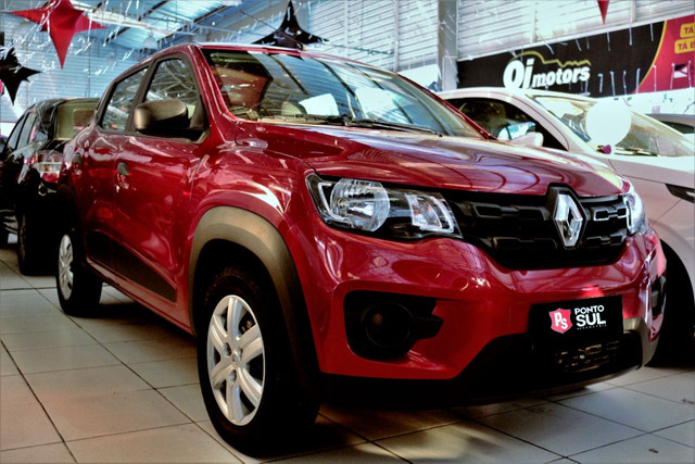 """:) Renault Kwid Zen 1.0 12V Flex """" Completo """" Baixo km - 2020"""