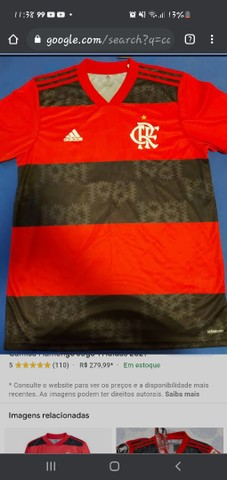 Camisa flamengo oficial 2021