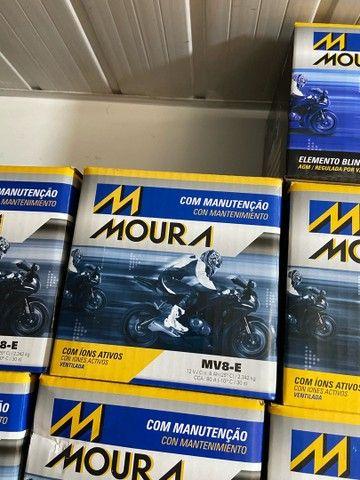 Bateria Moura para motos suzuki yes intruder gsr150 mv8-e entrega todo Rio  - Foto 2