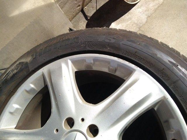 Rodas Mercedes aro 19 + pneus Maxxis excelente estado - Foto 3