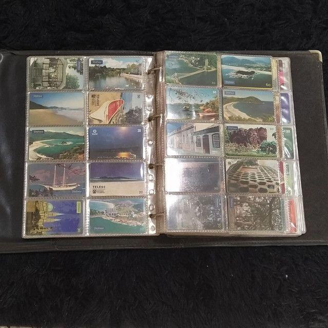 Coleção de cartão telefônico