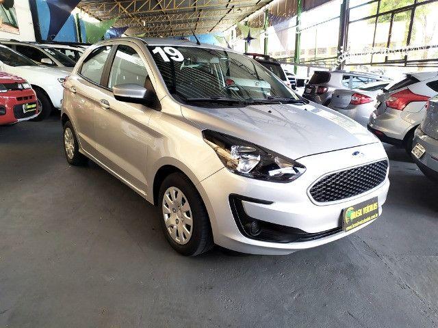 Ford KA 1.0 Flex 2020 ( Aceitamos troca e financiamos ) - Foto 9