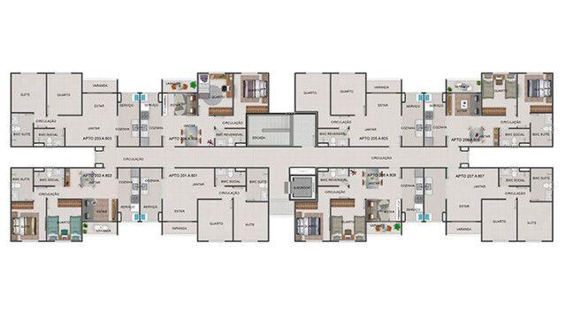 Quinta das Alamedas, apto. 2 quartos, piscina, entrada em 48x - Foto 20