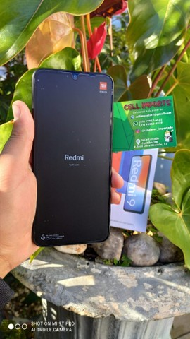 Xiaomi Redmi 9 64Gb/4gb Com 6 Meses De Garantia Cor Preto