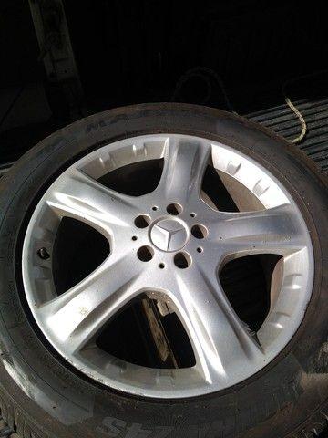 Rodas Mercedes aro 19 + pneus Maxxis excelente estado