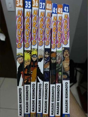 Mangá Naruto - 8 Volumes