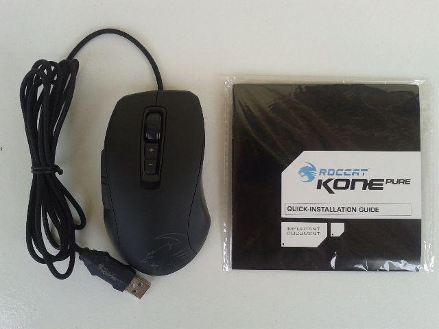 Mouse Roccat Gamer Kone Pure Performance 8200 DPI Roc 11700 Black