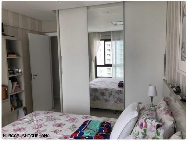 Apartamento com 3/4 (2 suítes) + dependência. armários e painéis primeira linha! VG1620 - Foto 5