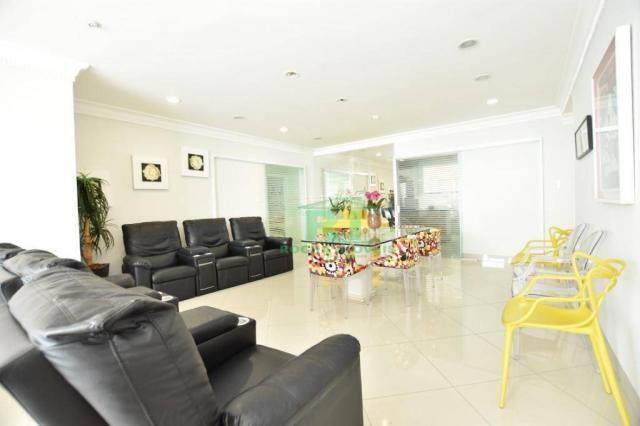 Apartamento com 4 dormitórios à venda, 190 m² - Praia das Pitangueiras - Guarujá/SP - Foto 4