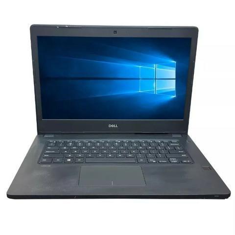 Notebook DELL latitude 3480 - I5 7200u 2.5 ghz +4GB ddr4 + ssd 240gb + Tela 14 -Top