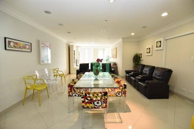 Apartamento com 4 dormitórios à venda, 190 m² - Praia das Pitangueiras - Guarujá/SP