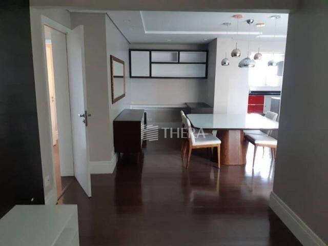 Apartamento com 3 dormitórios para alugar, 135 m² por r$ 5.000/mês - vila léa - santo andr - Foto 4